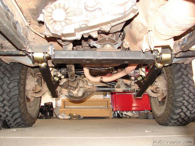 Clayton Off Road Hard Arm 4-Link Long Arm Suspension