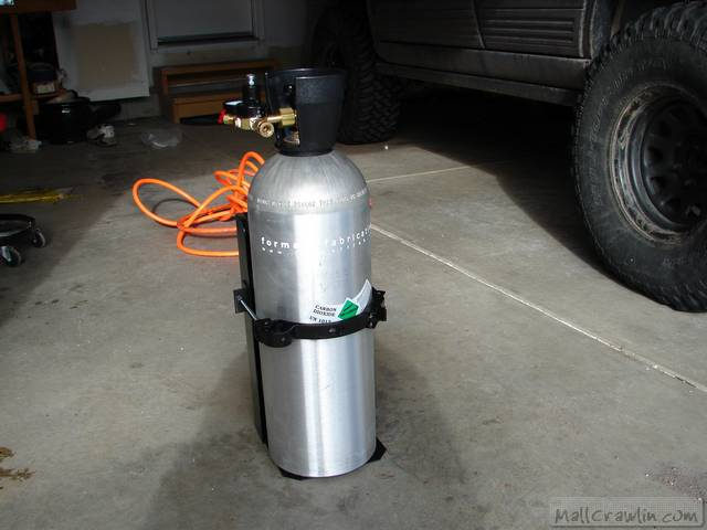 Formatt Fabrications CO2 Tank - Review Completed! 12/24/05
